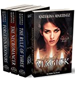 The Amber Lee Mystery Series: Books 1-4: A Romantic Witch Suspense (Amber Lee Mysteries Book 0)