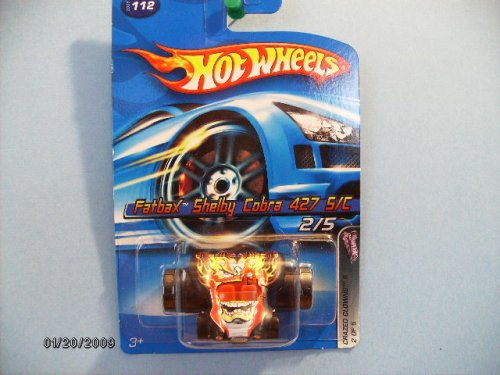 Hot Wheels Crazed Clowns Fatbax Shelby Cobra 427 S/c - 1