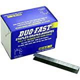 "Duo-Fast 5016C 1/2"" Length x 1/2"" Crown 20 Gauge Staples 5000 per Pack (5223)"
