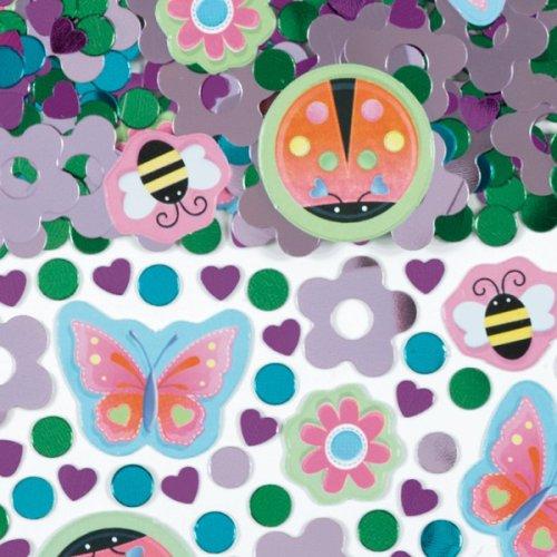 Amscan International Confetti Garden Girl