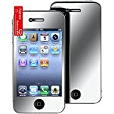 niceEshop 3 Packs Mirror Front Screen Protector for iPhone 4 4S