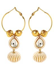 Akshim Multicolour Alloy Earrings For Women - B00NPYAN00