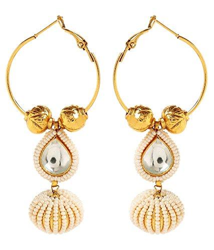 Akshim Multicolour Alloy Earrings For Women - B00NPYAN00