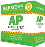 Barrons AP Chemistry Flash Cards, 2nd Edition