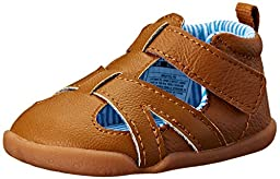 Carter\'s Every Step Bristol Stage 2 Stand Walking Sandal (Infant/Toddler), Brown, 3 M US Infant