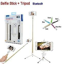 Life Like bluetooth multi function selfie stick with tripod