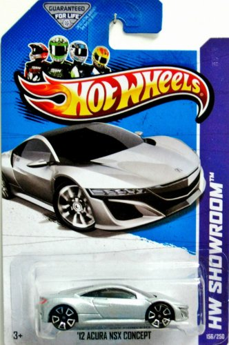 2013 Hot Wheels Hw Showroom - '12 Acura NSX Concept - 1