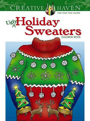 Ugly Holiday Sweaters Coloring Book
