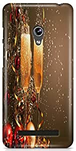 KSC Designer Hard Back Case Cover For Asus Zenfone 5