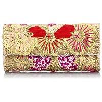 [ファティマモロッコ] Fatima Morocco ハート刺繍クラッチ