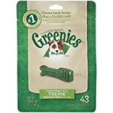 GREENIES Dental Chews TEENIE Treats For Dogs - TREAT-PAK Package 12 Oz. 43 Count