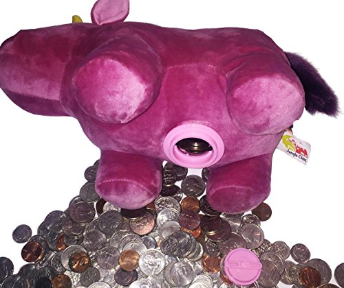 Large-Plush-Coin-Bank-by-Jungle-Class-Pink-Unicorn-Piggy-Bank-for-Kids-Animal-Toy-Bank-Stuffed-and-Soft-Savings-Starter-A-Cute-Toy-Coin-Collector-for-Boys-and-Girls-Other-Styles-Available