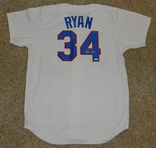 Nolan Ryan Signed Jersey - Mitchell & Ness - Upper Deck Certified - Autographed MLB Jerseys