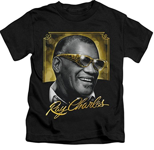 Juvy: Golden Glasses Ray Charles T-Shirt RC102JVY