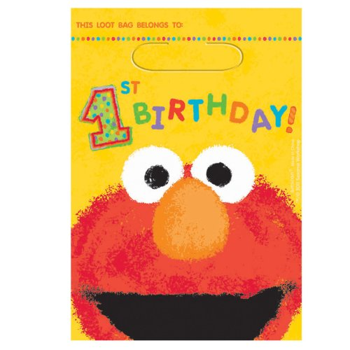 Elmo Treat Bags Party Accessory