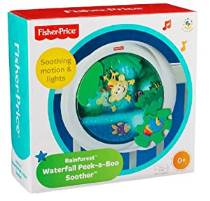 Amazon Com Fisher Price Rainforest Waterfall Peek A Boo