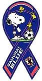【期間限定生産】スヌーピー × サッカー日本代表「SAMURAI BLUE」 コラボ リボンマグネット