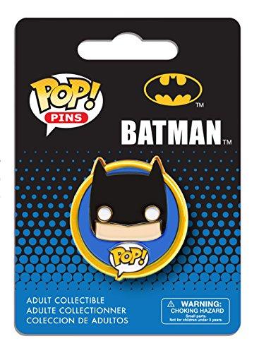 Funko - Pins Dc Heroes - Batman Pop 3Cm - 0849803072797
