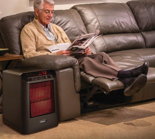 sale iheater ih 301 b max infrared heater with remote control heats