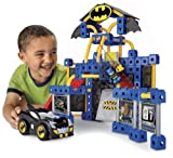 Fisher-Price TRIO DC Super Friends Batcave Building Toy Set with Batman Minifigure