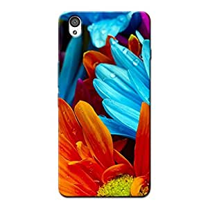 COLORED FLOWERS BACK COVER ONE PLUS X