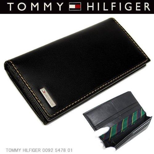 TOMMY HILFIGER トミー ヒルフィガー Fordham 長財布・小銭入れ付(黒) WALLET 0092 5478 01