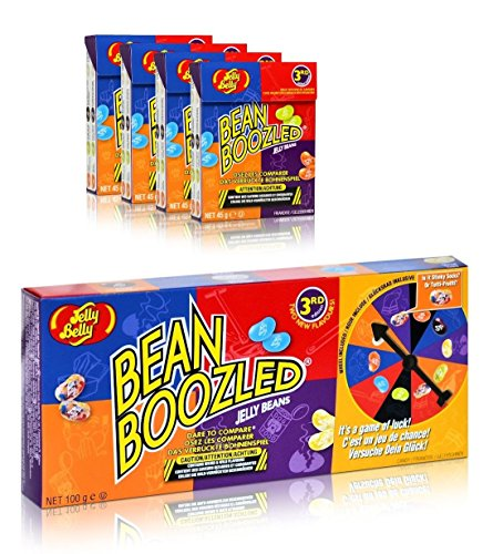 Jelly Belly Bean Boozled Spinner and Refill Boxes, 10 Ounce (Yucky Jelly Beans compare prices)