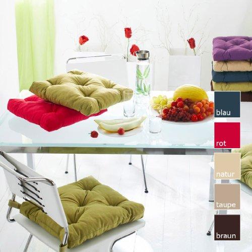 preisvergleich sun garden stuhlkissen sitzkissen gesa. Black Bedroom Furniture Sets. Home Design Ideas