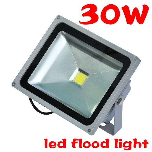 Tsss Xpt-Ledt30Wa 30-Watt Led Outdoor Security Wallpack Landscaping Yard Wash Floodlight, Bright Cool White