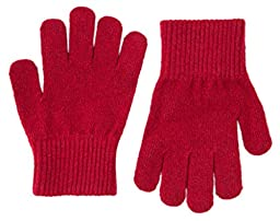 Mikk-Line Merino Wool Magic Gloves - Candy Rose (6-16Y)