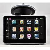 AMAGLE 4.3-Inch Portable Vehicle GPS Car GPS with Lifetime Maps USA Canada Mexico