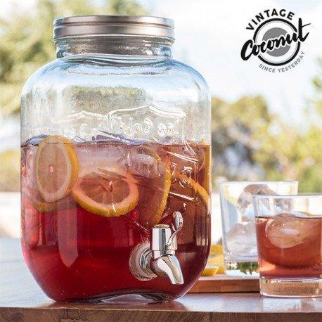 OTB Distributeur de boisson en verre 3,5 l