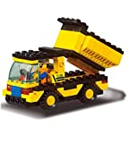 #10: Fun Growth Store New Arrival 93pcs/set DIY Building Blocks Toys Construction Vehicles Action Figure Toy Children Puzzle Educational Truck Toy