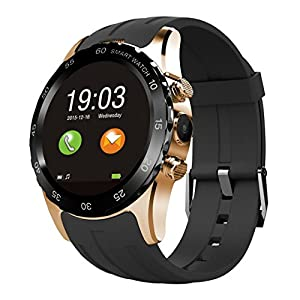 Smart Watches, Otium® S2 Round Screen Bluetooth Smart Watch Sim SD Card Insert Anti-lost Call Reminder Phone Mate for Samsung IOS Apple iPhone and other Smartphones