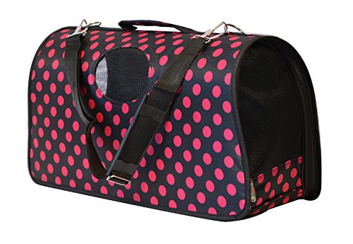 KritterWorld® Soft Sided Pet Carrier Folding Portable Tote Crate Carrier House Kennel Pet Travel Bag Cage