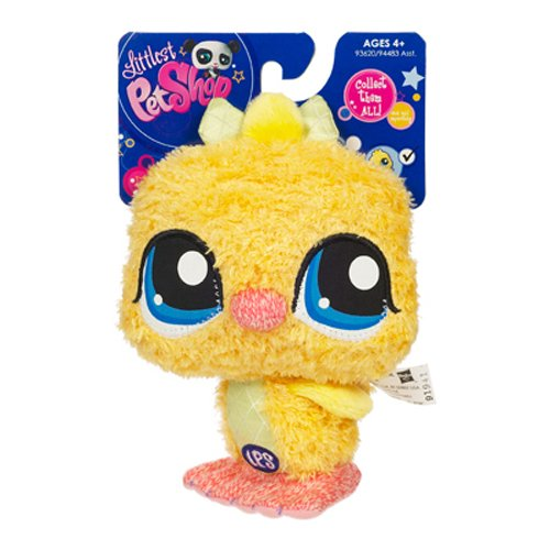 Picture of Hasbro Littlest Pet Shop Plush Pet Figure Duck (B002VRKLIG) (Hasbro Action Figures)