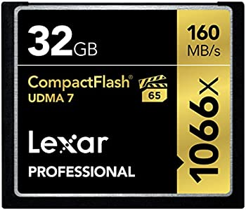 Lexar Professional 1066x 32GB CompactFlash Card