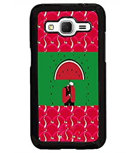 PrintDhaba Funny Image D-3770 Back Case Cover for SAMSUNG GALAXY CORE PRIME (Multi-Coloured)