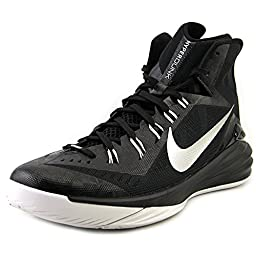 Men\'s Nike Hyperdunk 2014 TB Basketball Shoe Black/White/Metallic Silver Size 15 M US