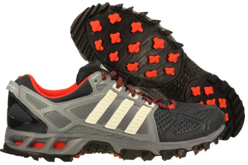 financiero Ministro Chirrido  Mens Adidas Kanadia 6 TR Running Shoes Tech Grey Chalk Red D66506 Size 8 -  xgdgrrdgthfth