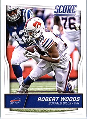 2016 Score #38 Robert Woods Buffalo Bills Football Card