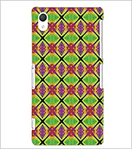 PrintDhaba pattern D-5159 Back Case Cover for SONY XPERIA Z2 (Multi-Coloured)