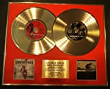 LINKIN PARK/DOUBLE CD GOLD DISC DISPLAY/LTD. EDITION/COA/METEORA & HYBRID THEORY