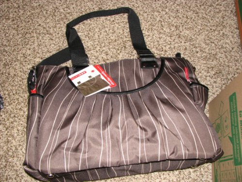 Skip Hop Scoop Diaper Bag Taupe Wave