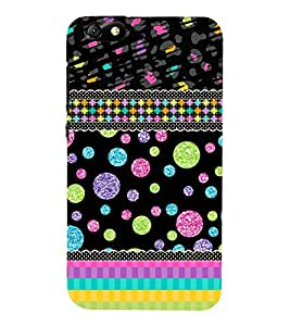 Glittery Bubbles Lines 3D Hard Polycarbonate Designer Back Case Cover for Huawei Honor 4X :: Huawei Glory Play 4X