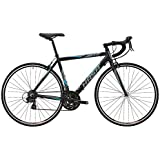 HASA(ハサ) R5 ブラック+ブルー フレームサイズ460mm シマノTOURNEY21speed ロードバイク デュアルコントロールレバー装備 前後キャリパーブレーキ 前後クイックリリース アナトミックシャロードロップハンドル 10.4kg 80502-6346 ブラック+ブルー