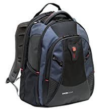 buy Swiss Gear Mythos Computer Backpack 15.6 Inch/16 Inch Inch Laptop Computer Backpack (Black/Blue) By Wenger
