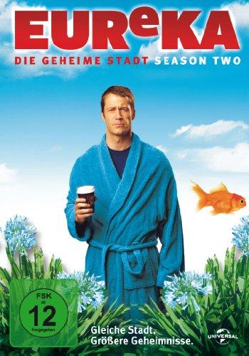 EUReKA - Die geheime Stadt, Season Two [4 DVDs]