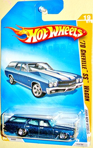 Hot Wheels 2009-19/42 '70 Chevelle Ss Wagon 019/190 Newmodels 1:64 Scale - 1