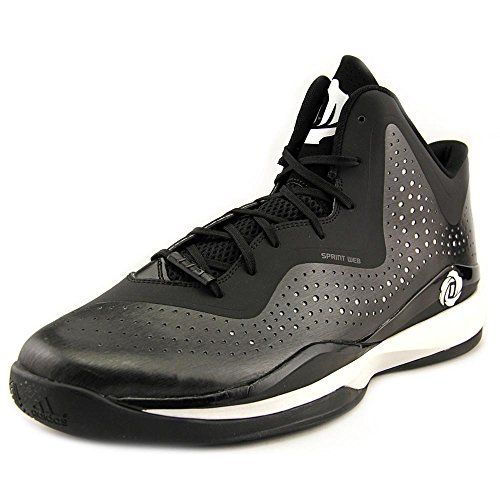 adidas D Rose 773 III Men's Basketball Shoes (15, Black/White/Black)